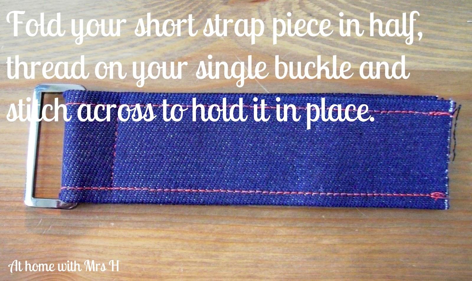 how to make straps adjustable