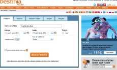Destinia: hoteles, viajes y vuelos online