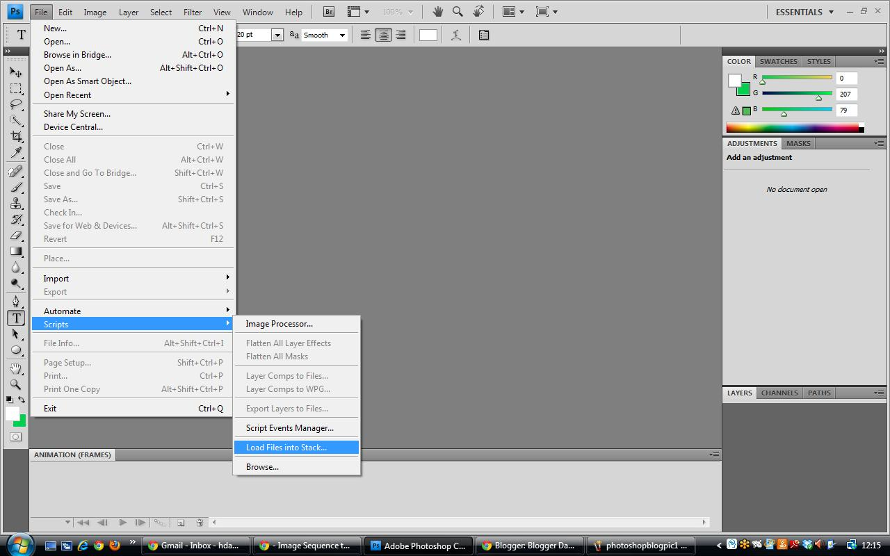 cant open pdf in photoshop