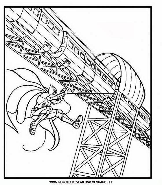 Batman disegni da colorare for Disegni da colorare supereroi