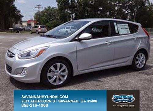 Hatchback, 5-Door, 2014 Hyundai Accent, Silver
