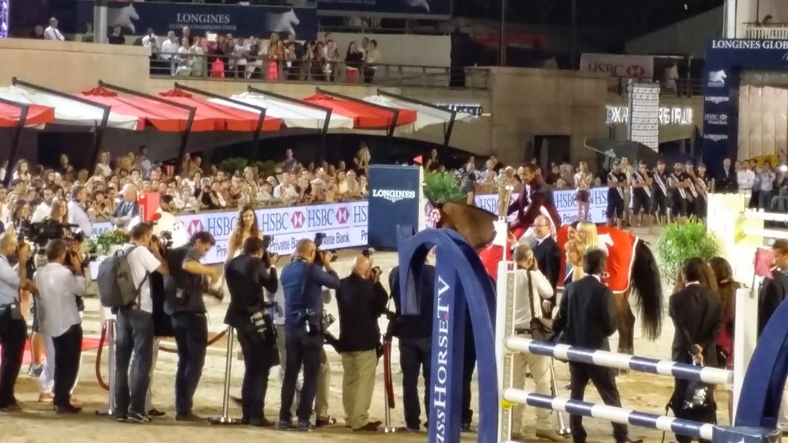 LONGINES Conquest, Global Champions Tour 2014 Montecarlo, Charlotte Casiraghi, Alberto di Monaco, Mohammed Bassem Hassan