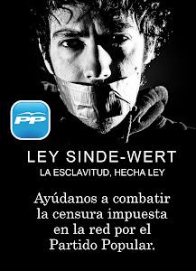 LA CENSURA EN LA RED IMPUESTA POR EL PP: LA LEY SINDE-WERT