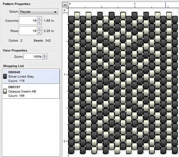 free peyote stitch beading patterns