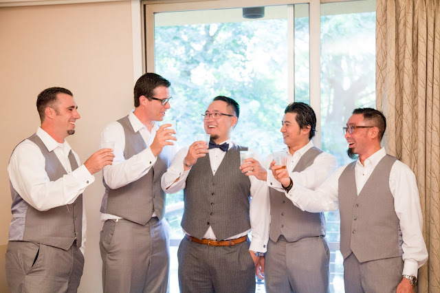 The Laney Wedding at Kellogg House Cal Poly Pomona. The start of our wedding day while we got ready at the Kellogg West Hotel and Conference Center in Pomona California #KelloggHouse #CalPolyWedding #WeddingPhotos #KelloggHouseWedding