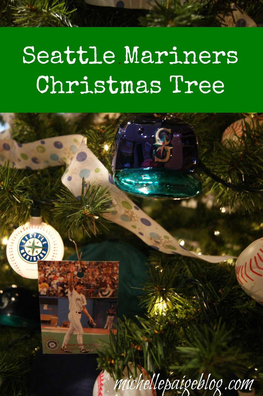 Seattle Mariners Christmas Tree