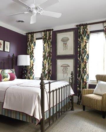 Coastal Living With Radiant Orchid Purple Pantone Color Of 2014 Completely Coastal