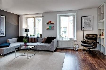 Apartamento estilo escandinavo