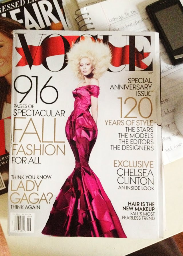 The September issue of Vogue - 2012
