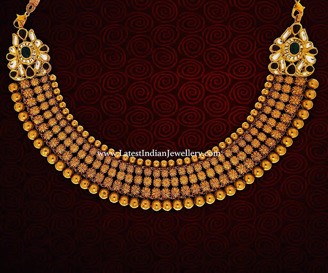 Sophisticated Antique Gold Necklace