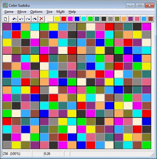 Color Sudoku Screenshot image 4