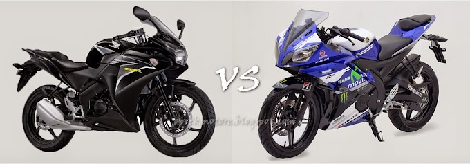 Komparasi Best Time Sentul Yamaha R15 Vs Honda CBR150R