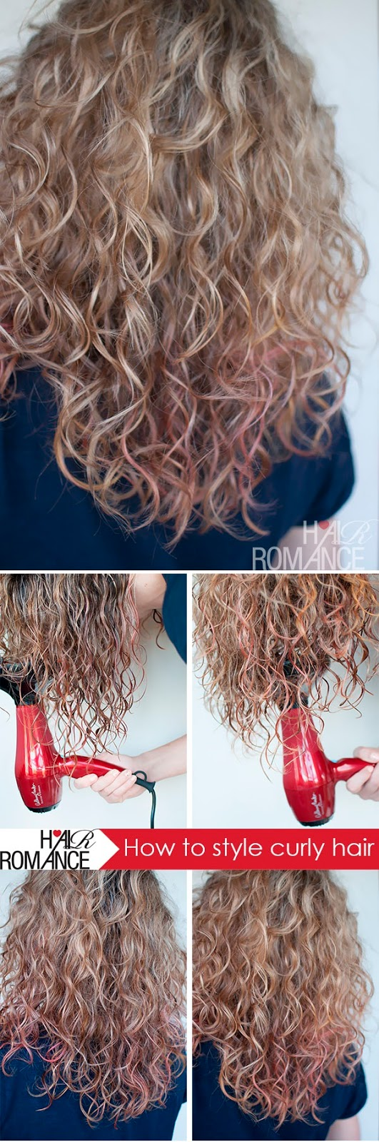 How to style curly hair - Hair Romance
