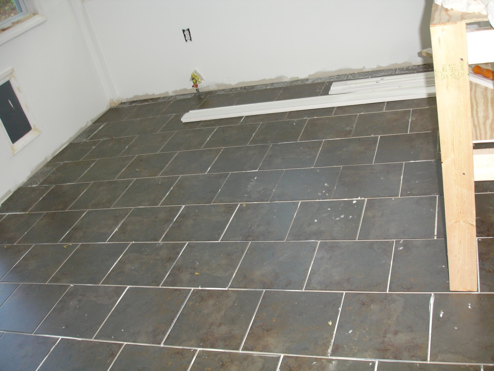 Wedded Whittaker Sunroom Tile Check
