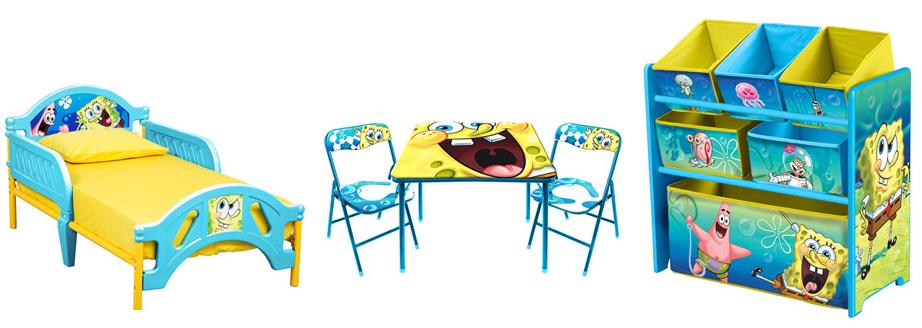 Image Gallery Spongebob Table