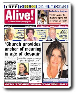 Alive newspaper