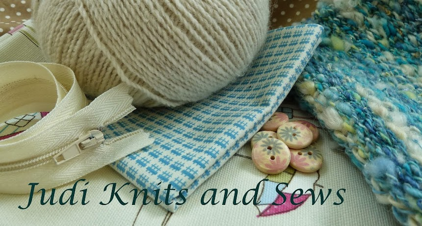Judi Knits and Sews