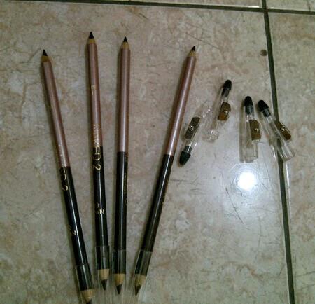 Harga Kosmetik Termurah Pensil Eyeliner Dan Alis