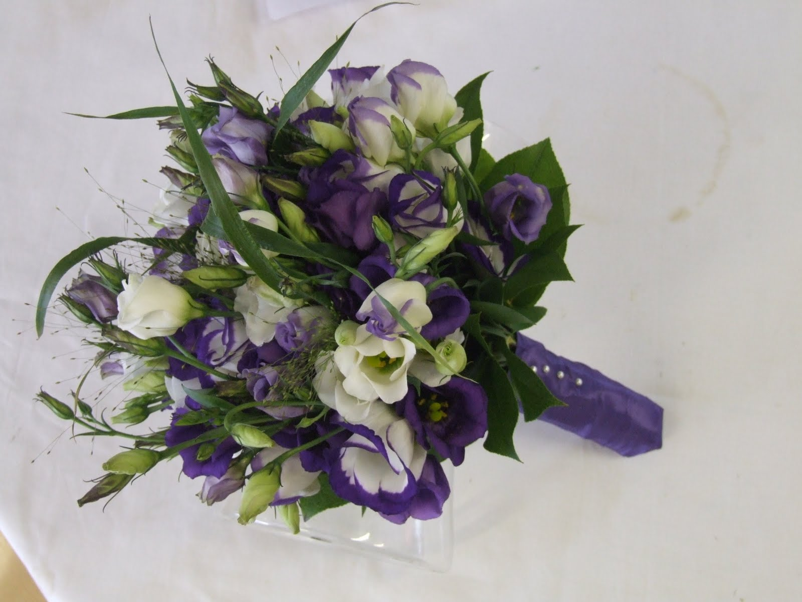 Wedding Bouquets With Lisianthus : Rj s florist lisianthus wedding