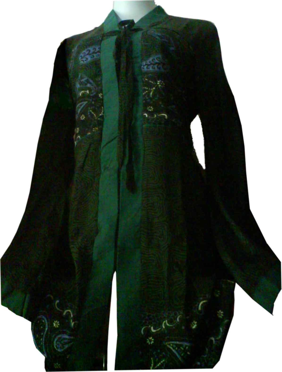 Busana Batik Formal Model Baju Batik Modern Baju Batik