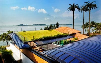 12 Inspirasi Rumah Dengan Green Roof 11