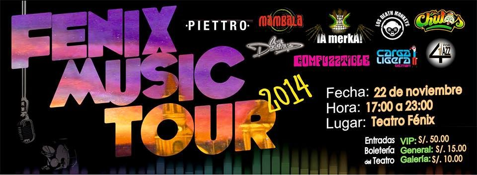 Fenix music tour 2014