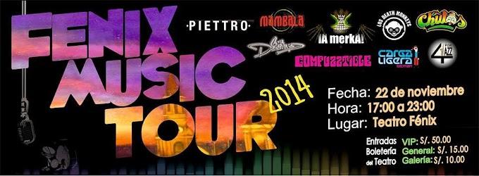 Fenix Music Tour 2014 - 22 de noviembre