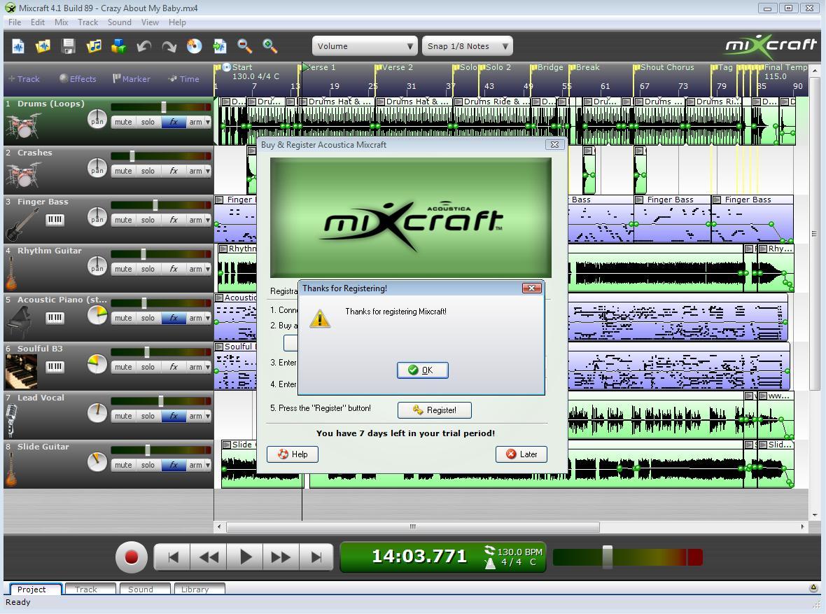 Acoustica Mixcraft 3.1 Build 34 Serial Number Keygen for ...