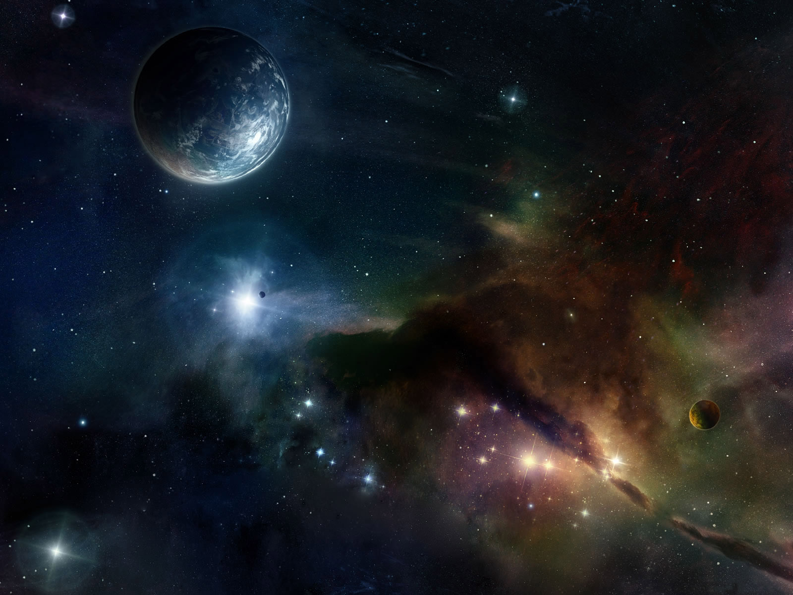Nature 39 s best outer space wallpapers for In outer space