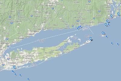 Shipwrecks In Long Island Sound