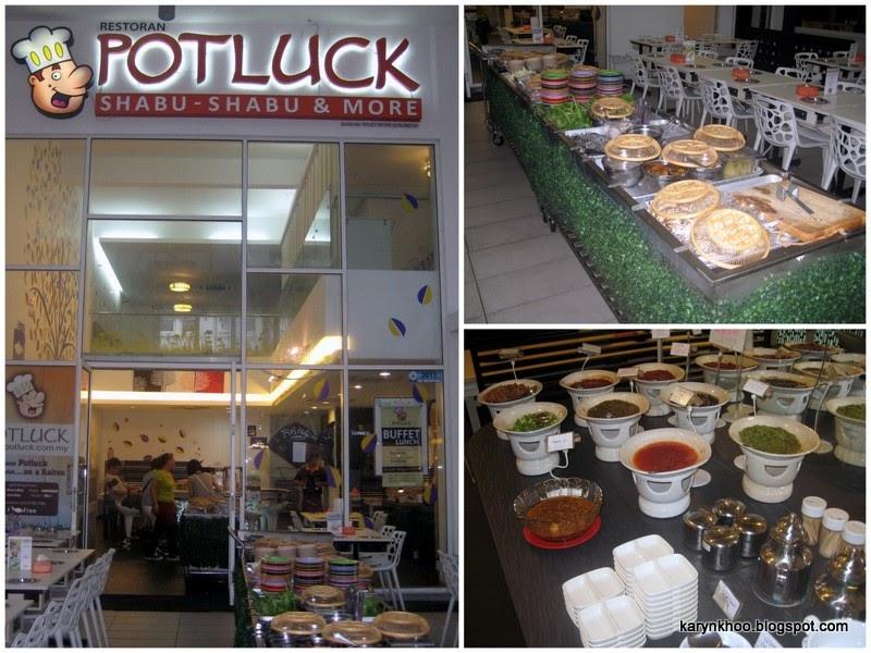 Karyn 39 s food blog restoran potluck sunway giza mall for Food bar kota damansara