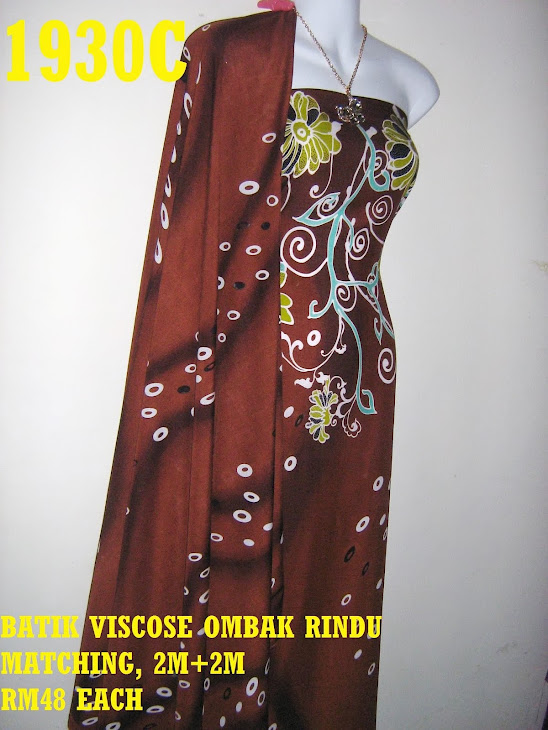 BVM 1930C: BATIK VISCOSE OMBAK RINDU MATCHING, EXCLUSIVE DESIGN, 2M+2M