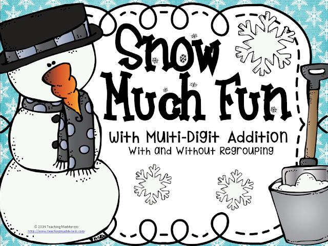 https://www.teacherspayteachers.com/Product/Snow-Much-Fun-Mutli-Digit-Addition-2279388