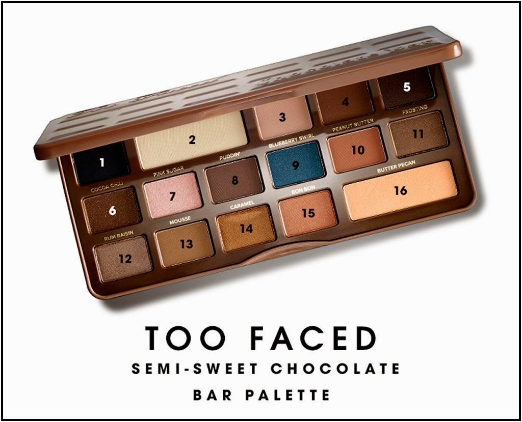 Too Faced Semi-Sweet Chocolate Palette