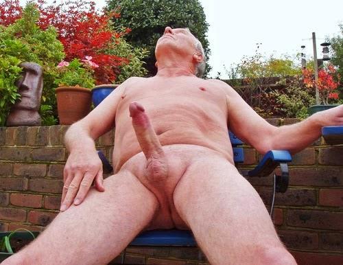 Grandpa Cock Senior Big Naked Older Men
