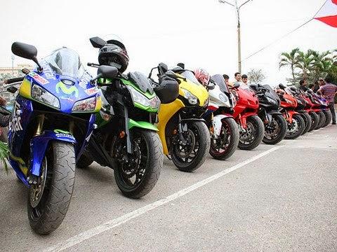 Moto phân khối lớn Việt Nam