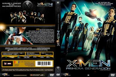 X-Men Primera Generacion DVD
