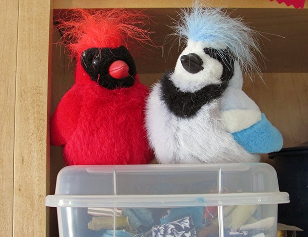 stuffed bird toys