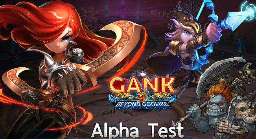 GANK Beyond Godlike Gameplay IOS / Android