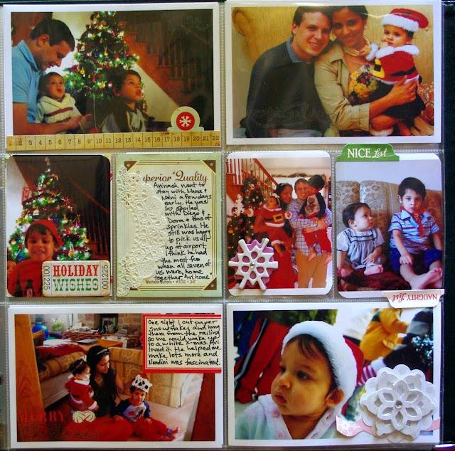 christmas project life