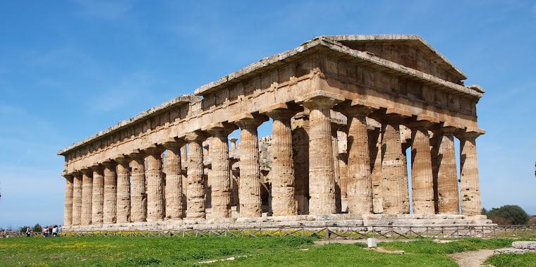 The temple of Hera II at Paestum