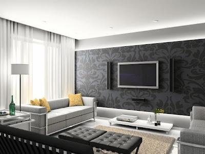 Bentuk Desain Rumah Interior Minimalis Cantik