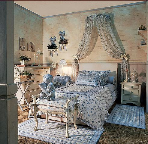 29 country young girls bedrooms room design ideas for Bedroom ideas country