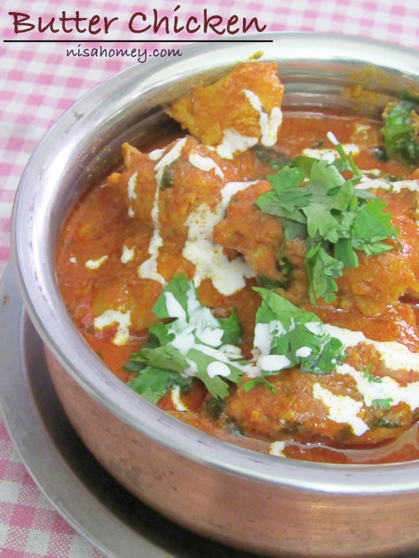Butter chicken recipe how to make indian butter chicken murgh butter chicken recipe forumfinder Gallery