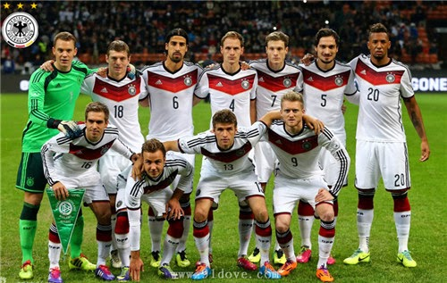 2014 FIFA World Cup : Germany vs USA