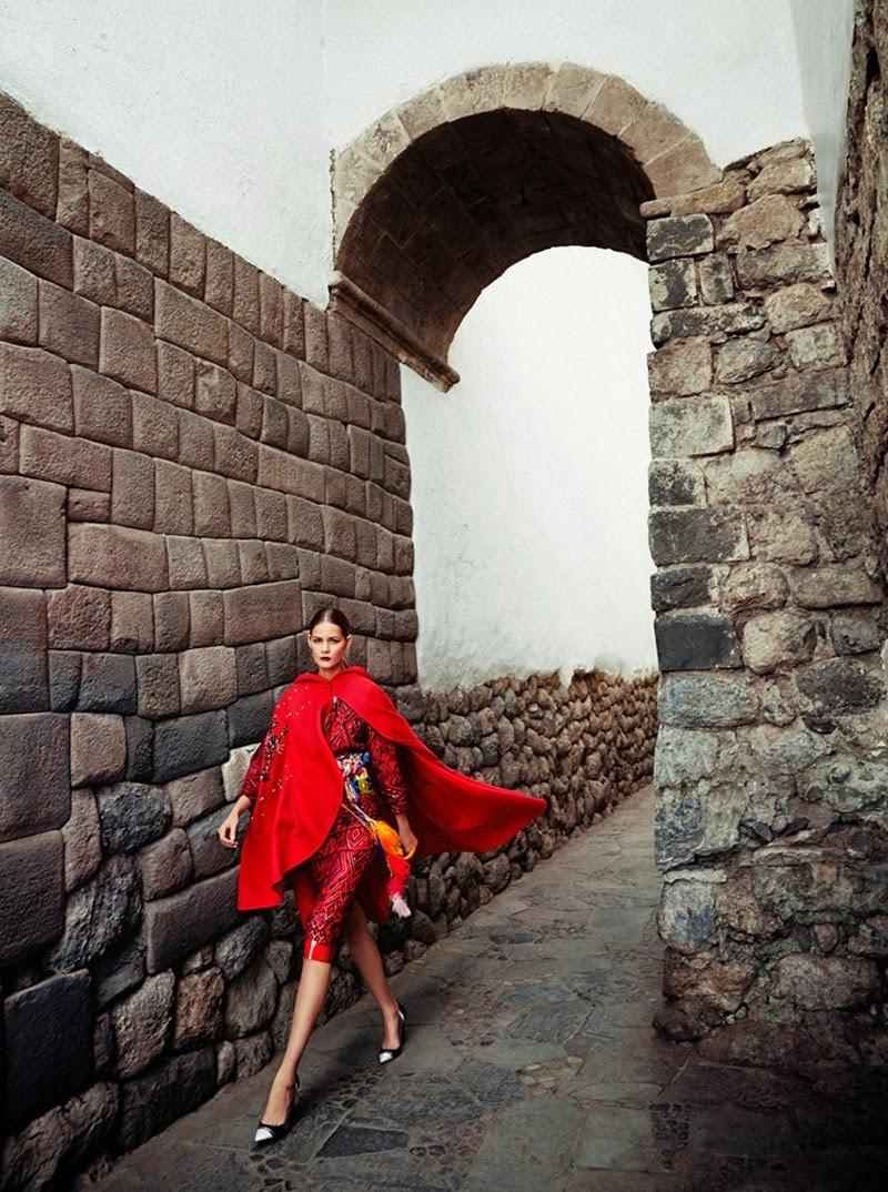 Flavia de Oliveira por Richard Ramos para Madame Figaro