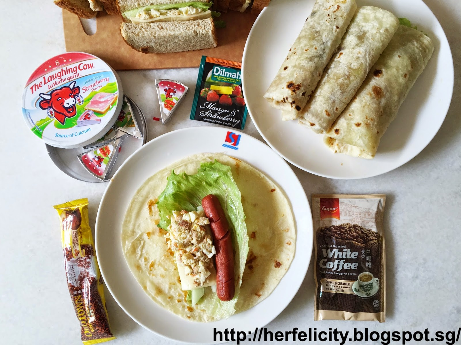 Lirong a singapore food and lifestyle blog recipe breakfast recipe breakfast wraps egg mayo sandwich forumfinder Images