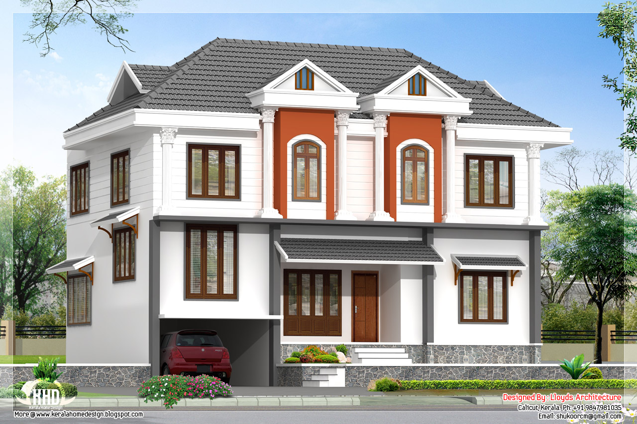 Zuber 39 s international plans best homes villas banglows for Villa architecture design plans