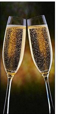 Navidad, brindis, brindar, champagne, espumante, sidra, copas