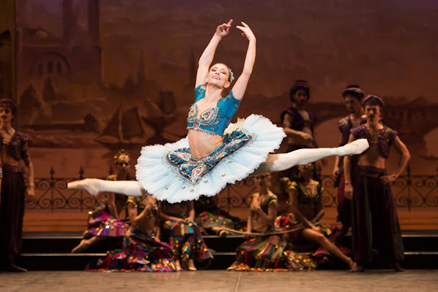 Le Corsaire by the English National Ballet, London Coliseum, January 2016 - theatre and culture blog